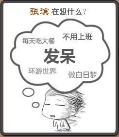 张滨在想什么?